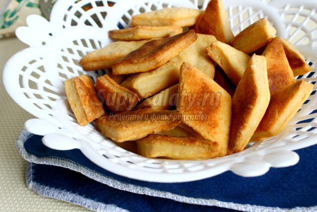 Печенье из плавленных сырков на сковороде рецепт пошагово