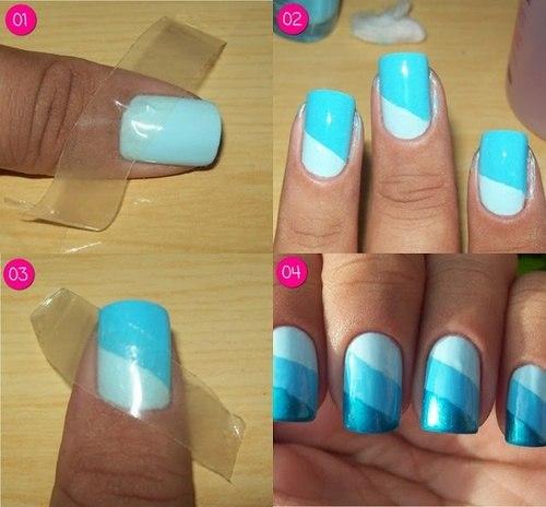 Какие сделать ногти в домашних условиях