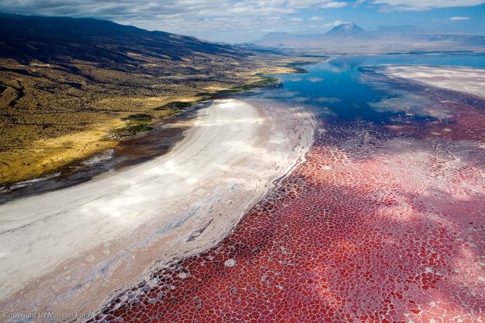 соленое озеро натрон в танзании 2 (700x466, 202Kb)