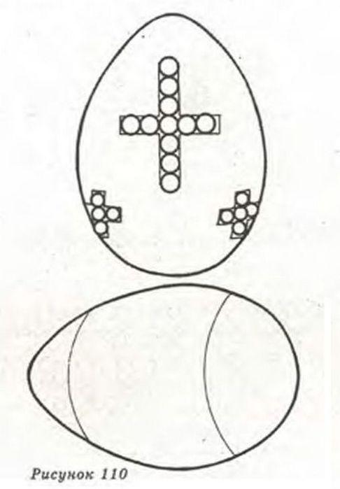 Немного схем по плетению пасхальных яиц из бисера. свой цитатник или сообщество!  Схемы к пасхальным яйцам из бисера.