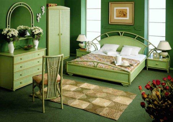 Интерьер-спальни-в-зеленом-цвете (600x424, 61Kb)