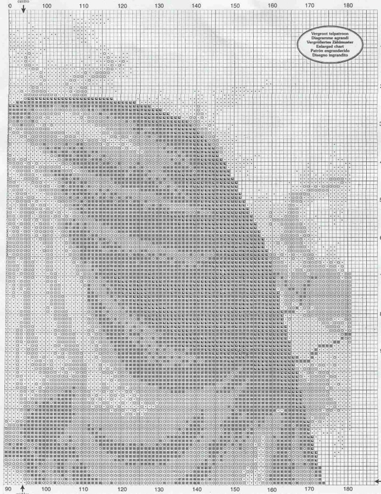 Egyptian Woman Vervaco (2) (539x700, 316Kb)
