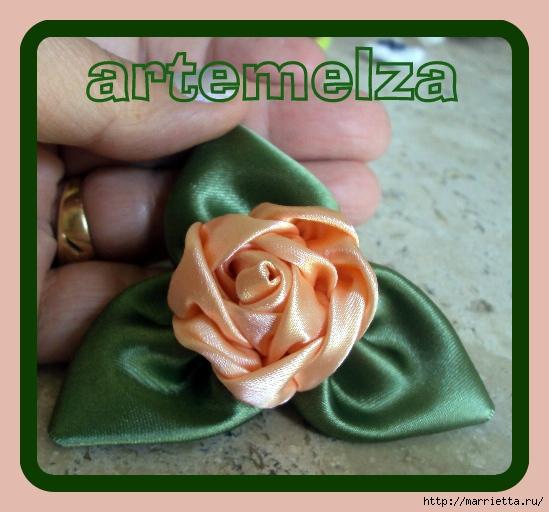 роза из атласной ленты (27) (549x512, 173Kb)