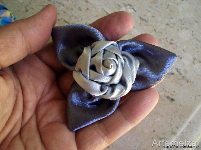 роза из атласной ленты (31) (640x480, 189Kb)