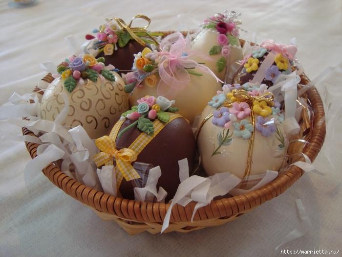 украшение пасхальных яиц сахарной мастикой (10) (700x525, 271Kb)