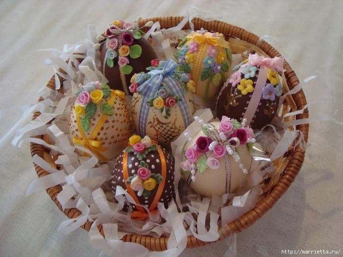 украшение пасхальных яиц сахарной мастикой (11) (700x525, 289Kb)