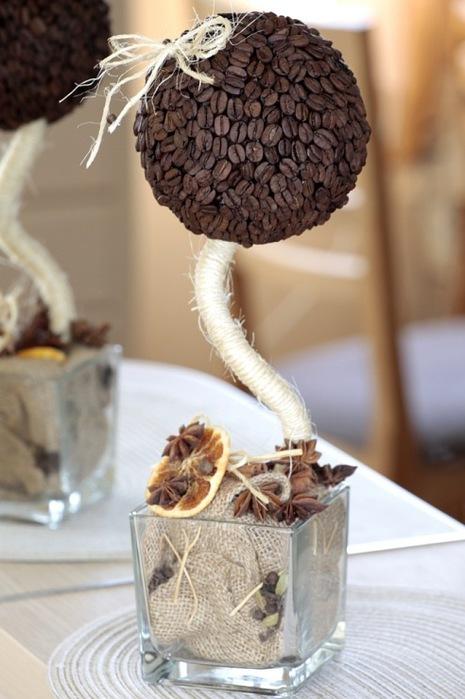 Поделки из зерен кофе своими руками пошаговое фото