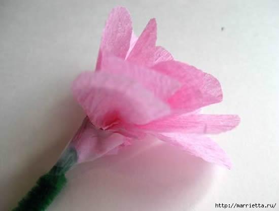 цветы из гофрированной бумаги (13) (550x416, 53Kb)