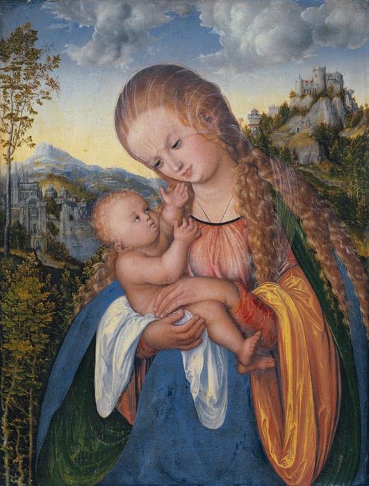 Мадонна и Младенец с