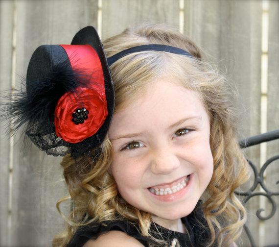 Шляпки своими руками на ободке для ребенка