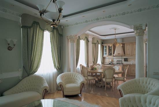 Интерьер спальни в маленькой комнате.