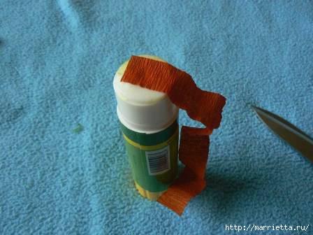 бонсай из гофрированной бумаги (11) (448x336, 73Kb)