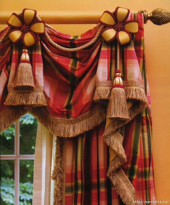 Декорирование карниза своими руками