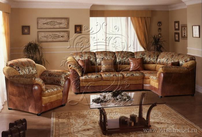 Набор диван и кресло Моск обл