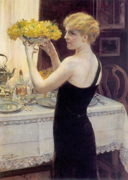 Herman Richir (1866–1942)Les apprêts de la soirée (499x700, 299Kb)