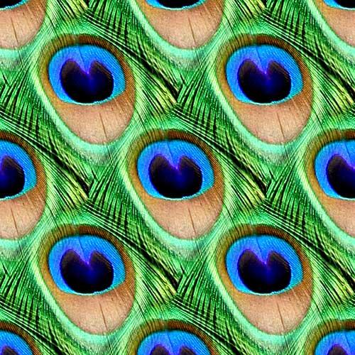钩针:孔雀羽毛模式 - maomao - 我随心动