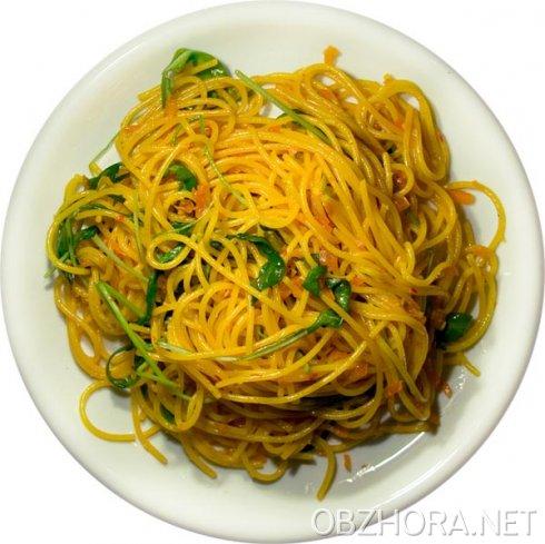 Спагетти в сливочном соусе 61638