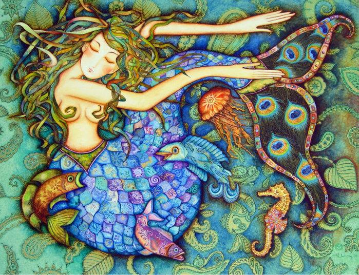 картины американской художницы Холли Сьерра (700x536, 199Kb)