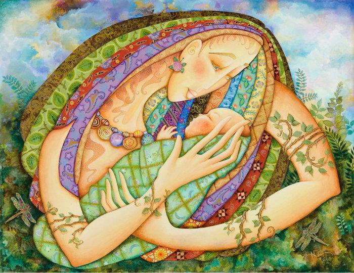 картины американской художницы Холли Сьерра 1 (700x540, 164Kb)