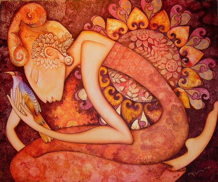 картины американской художницы Холли Сьерра 2 (700x583, 157Kb)