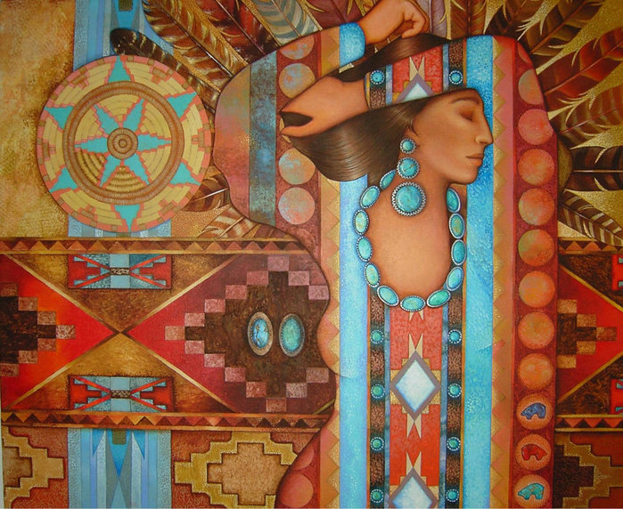 картины американской художницы Холли Сьерра 10 (700x572, 152Kb)