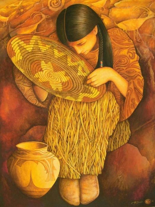 картины американской художницы Холли Сьерра 12 (523x700, 292Kb)