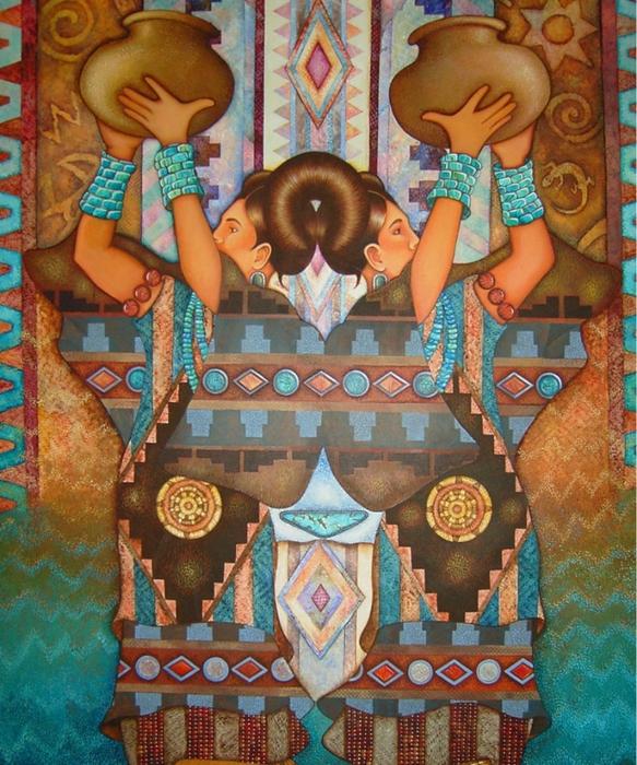 картины американской художницы Холли Сьерра 15 (583x700, 383Kb)
