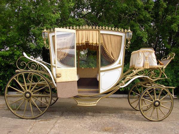 выбор кареты на свадьбу