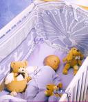 Вязание крючком Вяжем для дома: постельное бельё вяжем: Колыбель для ангела 1.