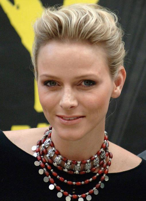 Princess charlene of monaco haircut