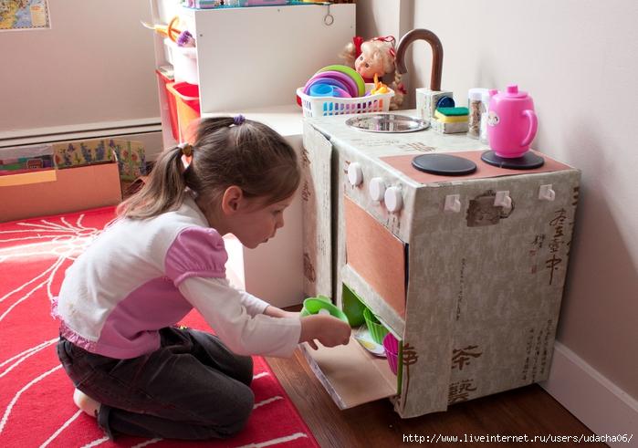 для кукол мебель своими руками кухня