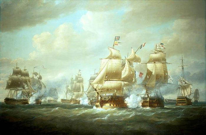 La batalla de Santo Domingo, 6 de febrero de 1806 (700x460, 43Kb)