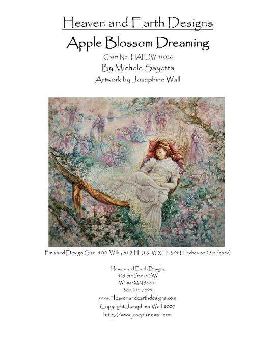 Apple Blossom Dreaming (540x700, 228Kb)