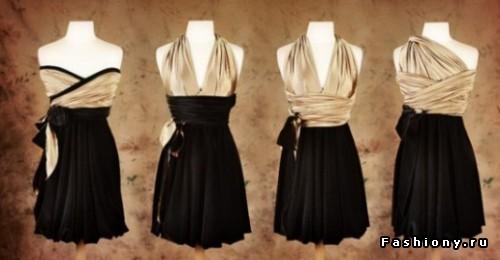Платье трансформер мастер класс
