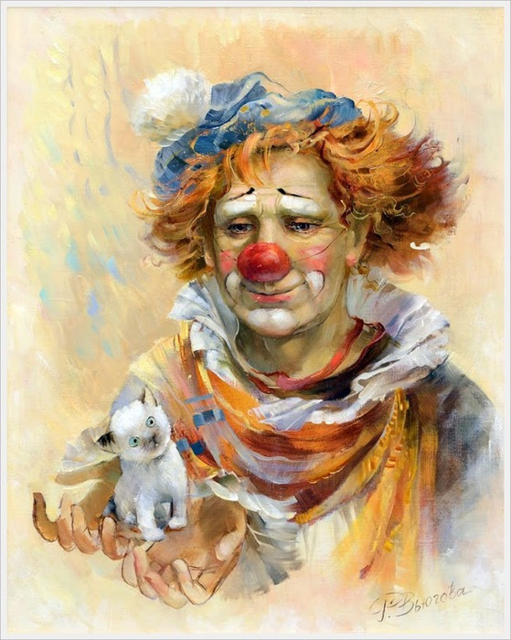 Вьюгова Римма Николаевна (Россия) «Маленький» 2012 (559x700, 128Kb)