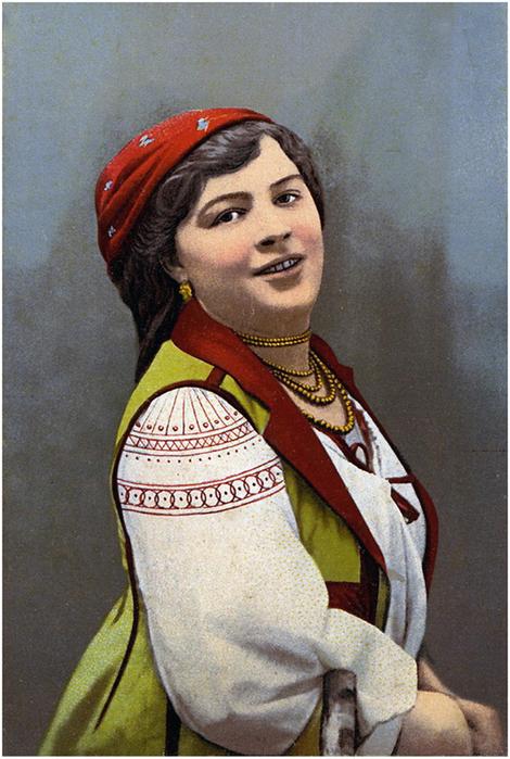 украинские открытки: