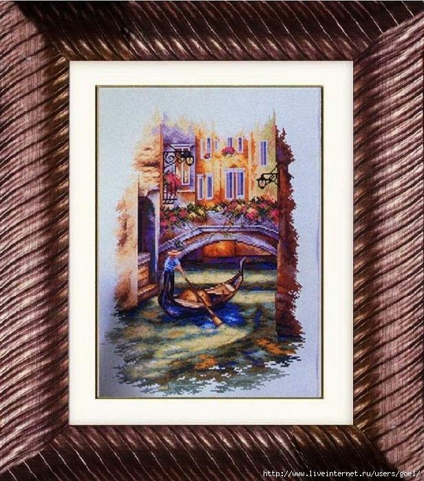 Венецианский мостик (616x700, 314Kb)