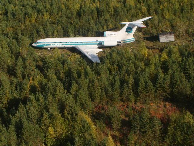 Необычные успешные посадки самолётов.