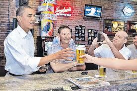 Черное пиво об Обамы