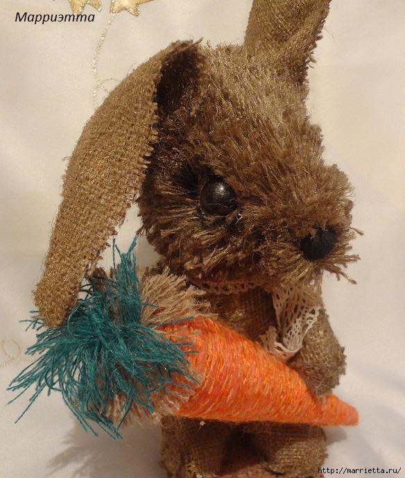 кролик из мешковины (4) (584x689, 301Kb)