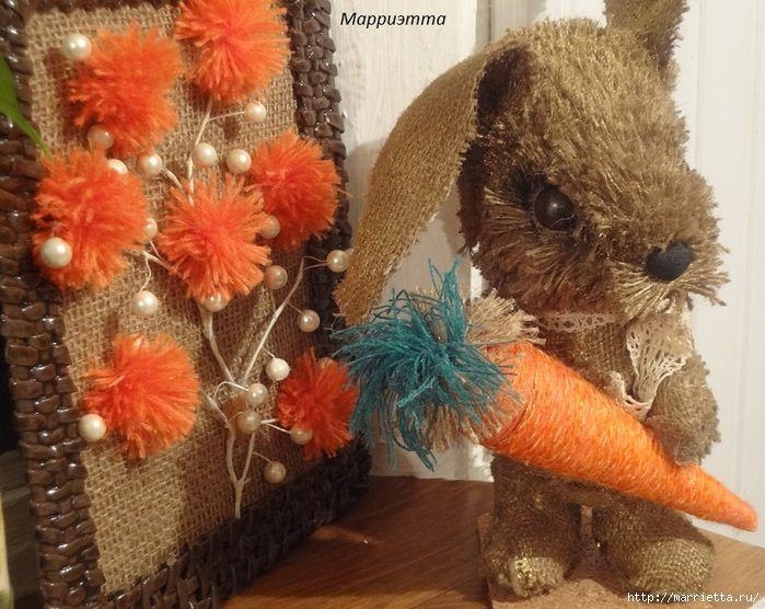 кролик из мешковины (10) (700x556, 294Kb)