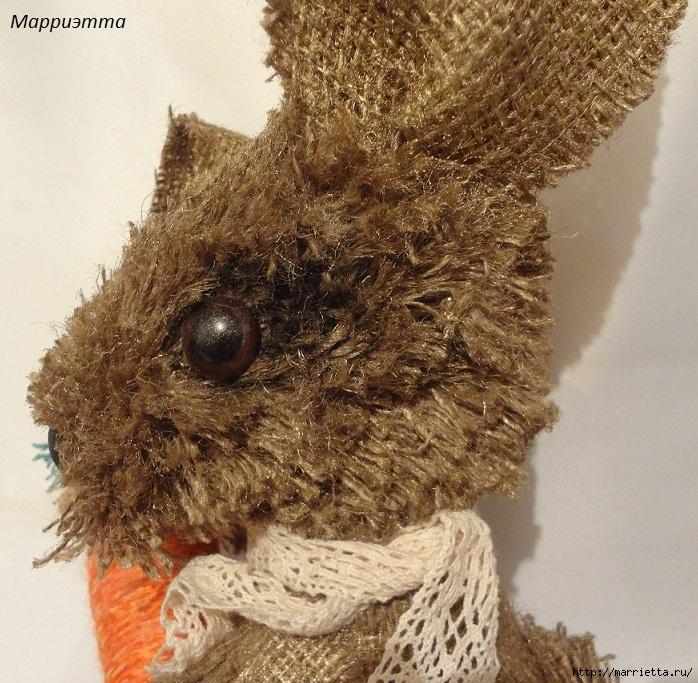 кролик из мешковины (20) (698x683, 380Kb)