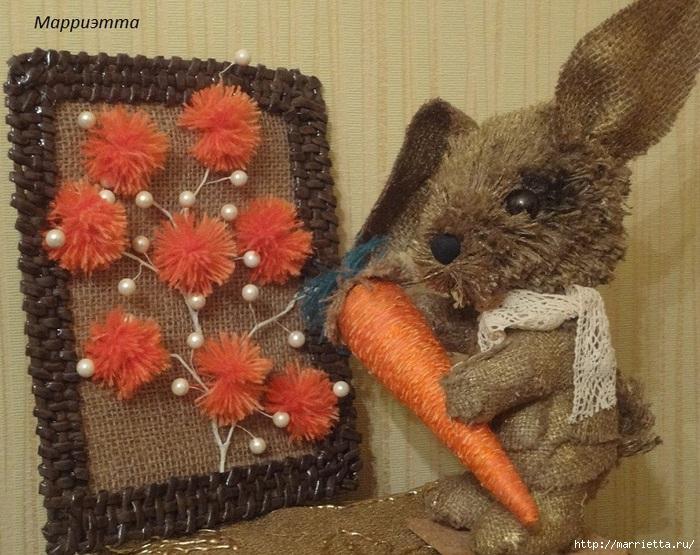 кролик из мешковины (23) (700x555, 295Kb)