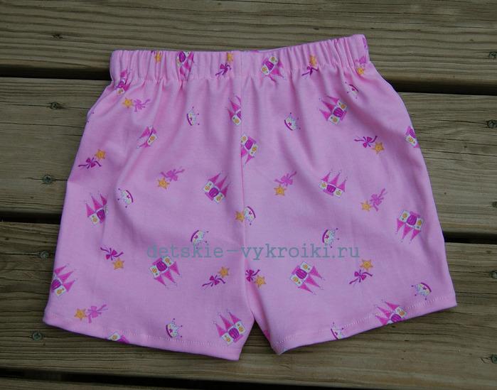 Сшить женские шорты на резинке выкройка фото 414
