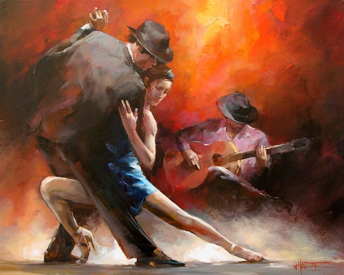 современная форма танца