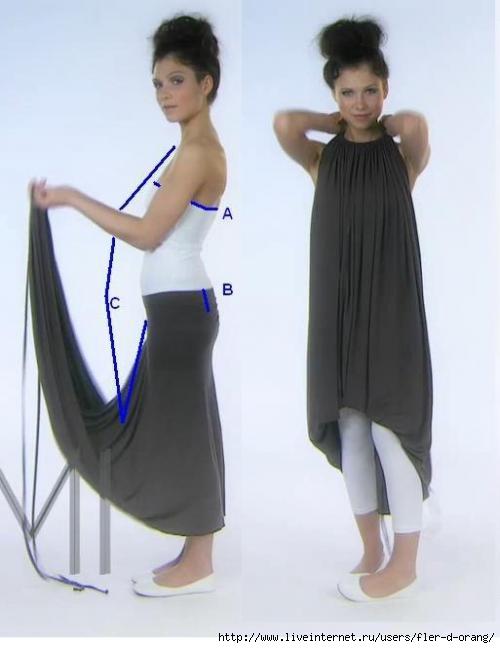 Платье-трансформер EMAMI+как скроить.