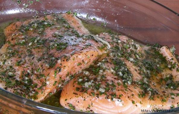 лосось запеченный в фольге (3) (593x378, 214Kb)