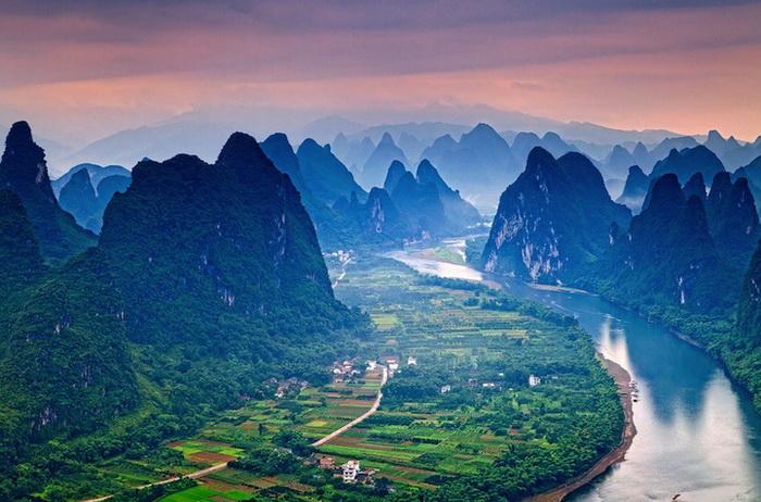 река ли китай фото (700x462, 144Kb)