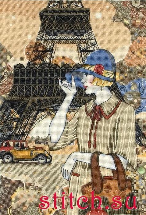 Париж прошлого века (476x700, 190Kb)