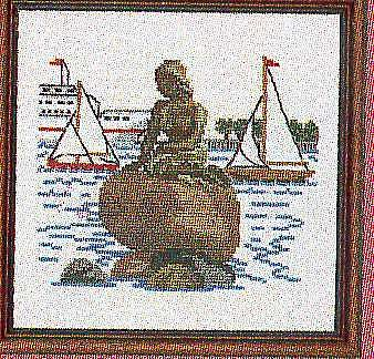 Русалочка в Копенгагене (338x324, 75Kb)